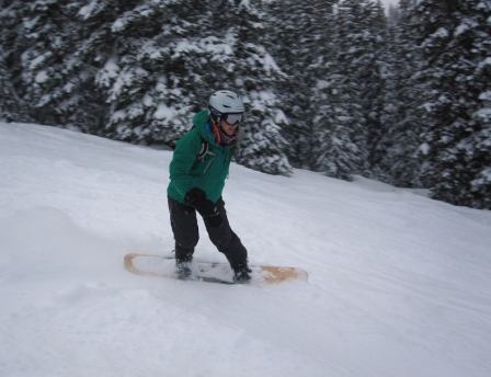 Powder day at Copper Mountain!