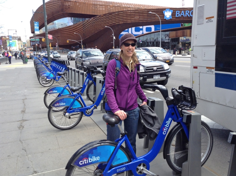Exploring Brooklyn on Citibikes