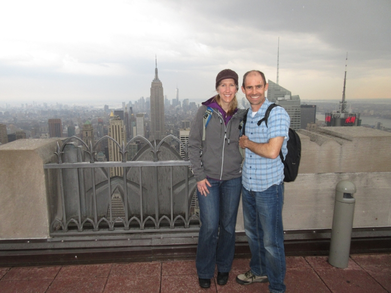 On top of the Rock