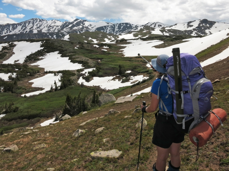 Our first backpacking trip of the summer was a three-day adventure in the Mt. Massive Wilderness in Colorado.